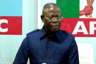 Adams Oshiomhole swears in Waziri Bulama as APC acting national secretary