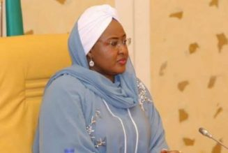 Aisha Buhari, NDE support production, distribution of face masks to northern states