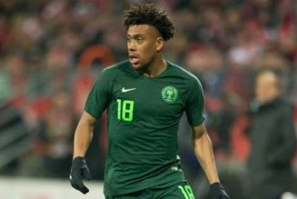 Alex Iwobi reveals happiest moments of his career in national team shirt