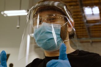 Amazon engineers develop face shields for frontline workers