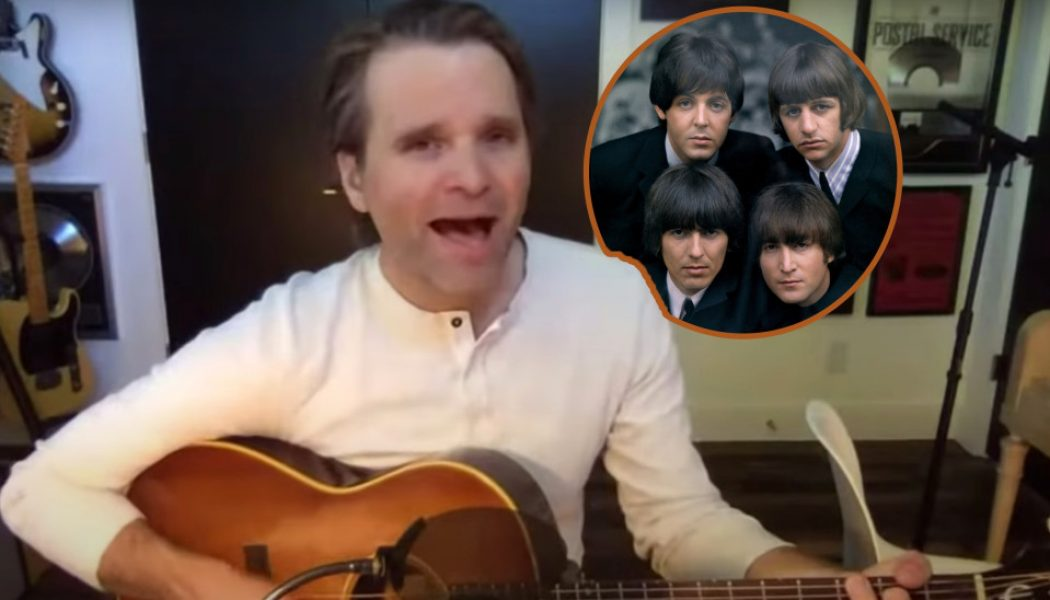 Ben Gibbard Performs All-Beatles Covers Livestream: Watch