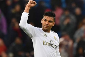 Casemiro: Football can prove a return to normal is possible
