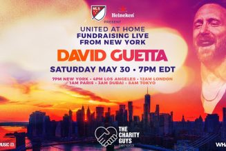 """David Guetta's """"United At Home"""" Concert Is Broadcasting Live from New York"""