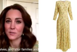 Duchess of Cambridge Wears the Perfect Summer Dress While Announcing New Project on This Morning