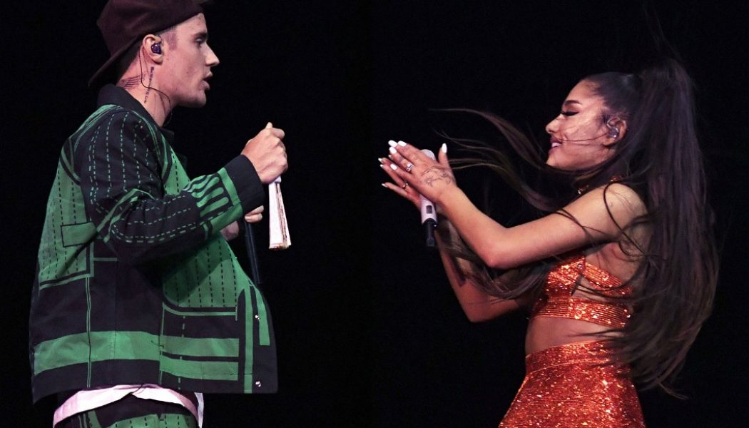Fans Pick Ariana Grande & Justin Bieber's 'Stuck With U' as This Week's Favorite New Music