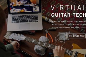 Gibson Offering Free Virtual Guitar Tune-Ups for Quarantined Musicians