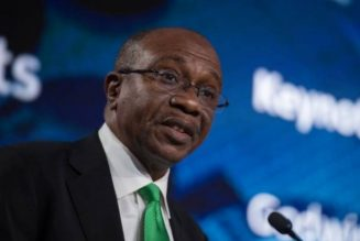 Godwin Emefiele: Central bank ready to support home grown vaccine