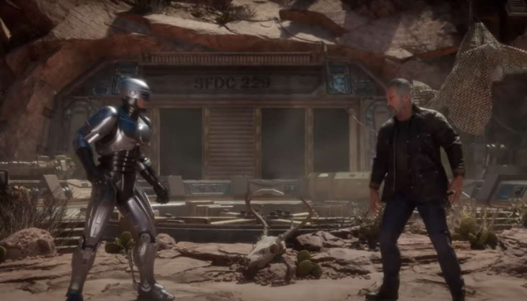 HHW Gaming: RoboCop & The Terminator Practice Their Fatalities On Each Other In New Trailers