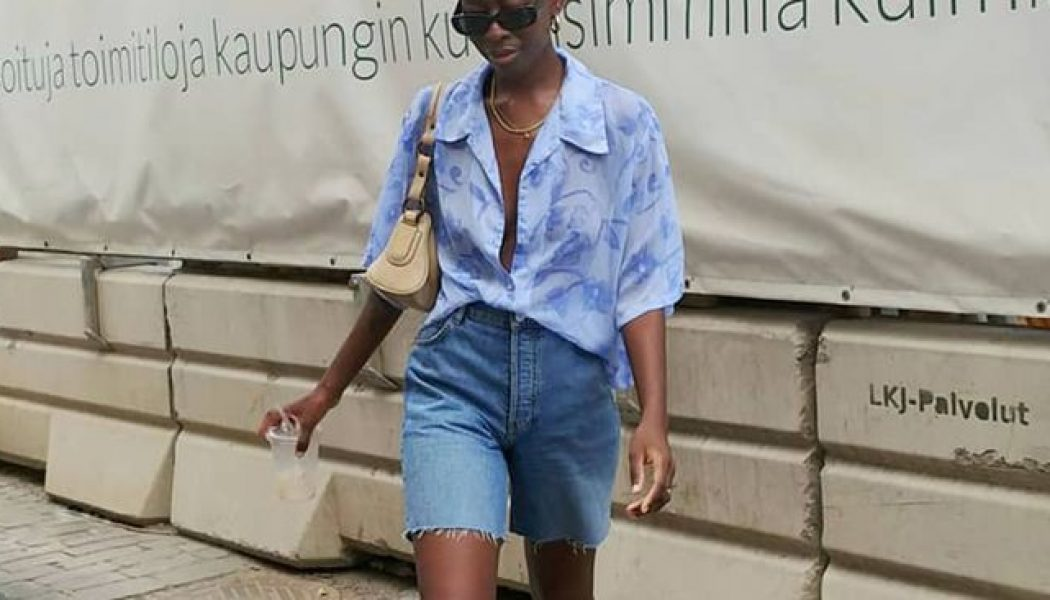 How to Wear Denim Shorts and Still Look Like a Grown-Up