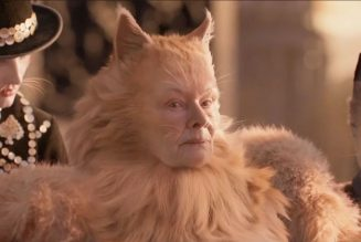 "Judi Dench Says Her Cats Coat Looks ""Like Five Foxes Fucking on My Back"""