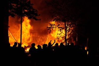 Let It Burn: Protestors Set Fire To Minneapolis Police Precinct During Third Night of Protests