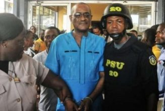 Liberia withdraws corruption charges against ex-president's son