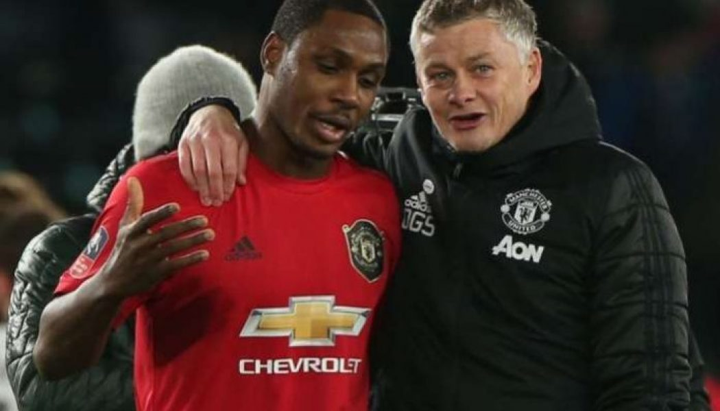Manchester United manager gives update on Odion Ighalo's future