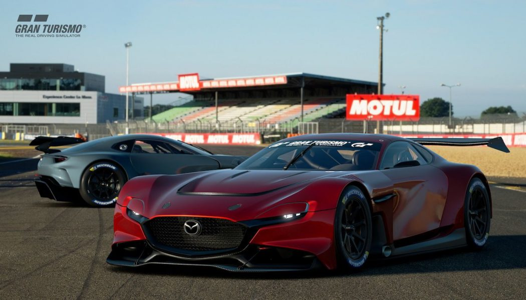 Mazda's RX-Vision GT3 Is the Off-Limits Rotary Sports Car You Can Now Drive in Gran Turismo