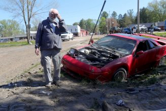 Michigan Flooding Destroys Local Fiero Repair Shop