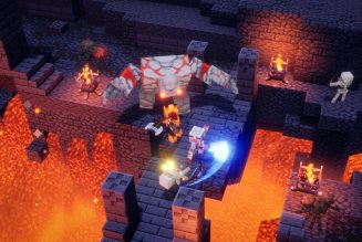 Minecraft Dungeons is a lighter, more family-friendly take on Diablo