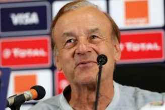 NFF urged to give Gernot Rohr free hands to do his job