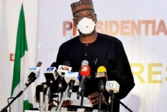 Nigerian government warns against recycling of face masks