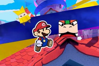 Paper Mario: The Origami Kingis coming to the Switch in July