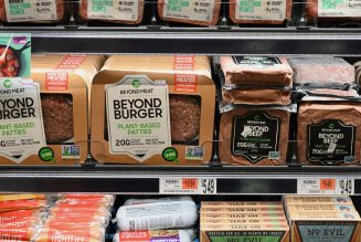 Plant-based meat sales in the US are up 264 percent since March