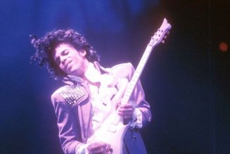 Prince's Long-Lost Blue Angel Cloud Guitar up for Auction