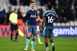 Report: Serie A giants have a strong interest in 22y/o Spurs defender
