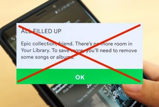 Spotify Removes its 10,000-Song Library Limit