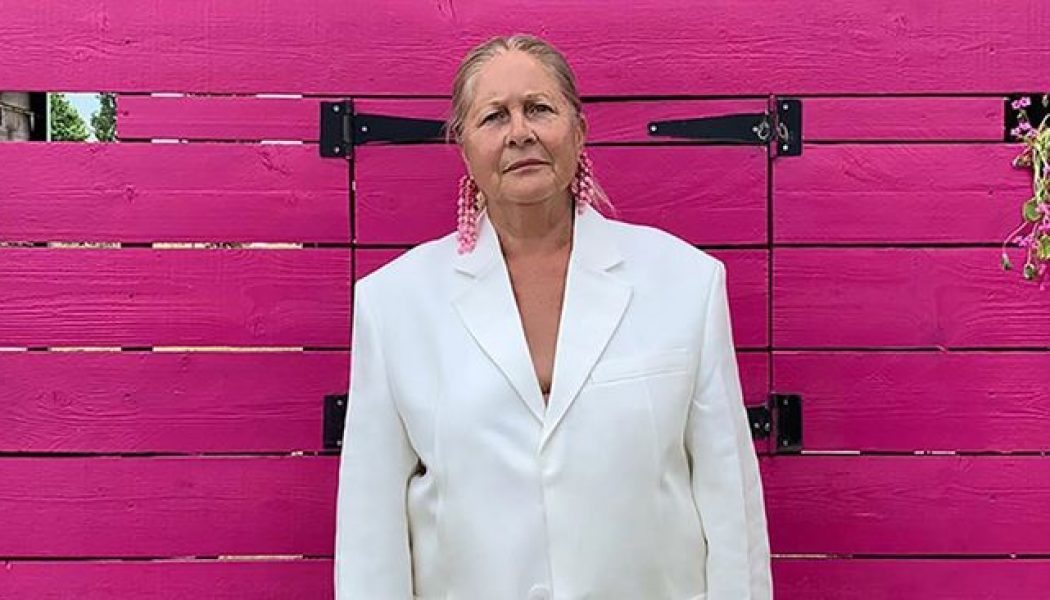 This French Grandmother Just Landed the Coolest Modelling Gig in Fashion