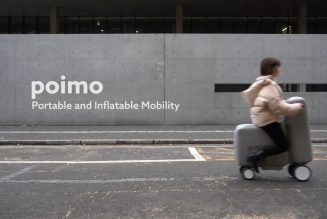This INFLATABLE Scooter of the Future Blows (Up)