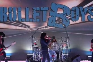 Watch Original Lineup Of BULLETBOYS Perform Live At 'Monsters Of Rock Cruise Studios'
