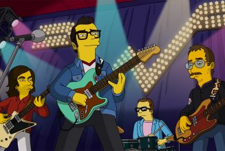 Weezer Give The Simpsons' Theme Song the Rock Concert Treatment