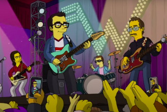 Weezer Will Appear on The Simpsons This Weekend