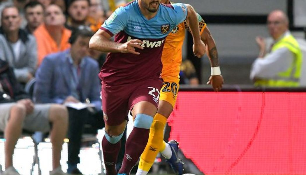 West Ham United will be aiming to recoup £8m fee with 23-year-old's sale: report