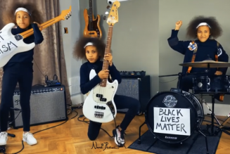 10-Year-Old Covers Rage Against The Machine in Solidarity With BLM