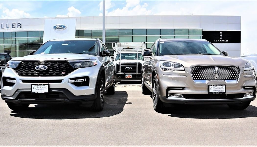2020 Ford Explorer vs. 2020 Lincoln Aviator: Which Should You Buy?