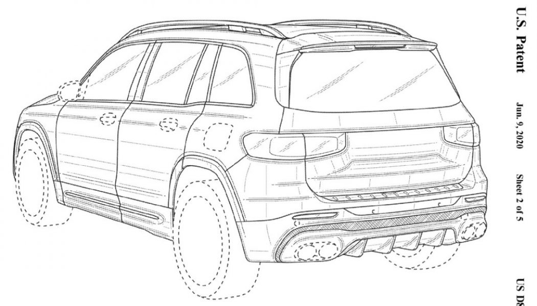 2021 Mercedes-AMG GLB 45 Likely Revealed In Patent Images