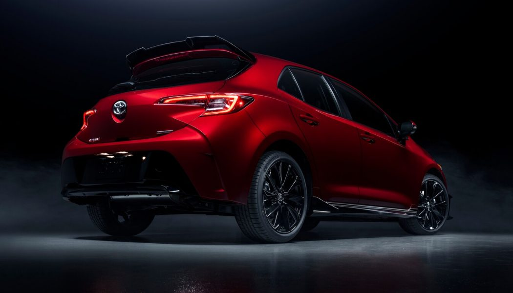 2021 Toyota Corolla Hatch Special Edition: Boring Name, Hot Paint