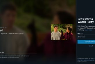 Amazon is bringing virtual viewing parties to Prime subscribers with Watch Party