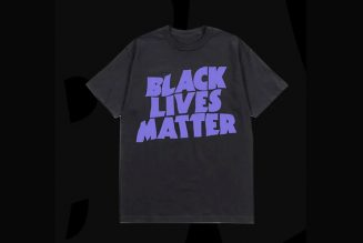 Black Sabbath Selling Black Lives Matter T-Shirt in Style of Band's Classic Logo