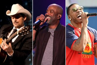 Brad Paisley, Darius Rucker, Nelly to Play Live Nation's First Drive-in Concert Series