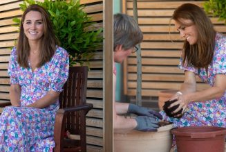 Catherine, Duchess of Cambridge Wears a New Sustainable Brand for Her Summer Fashion Debut