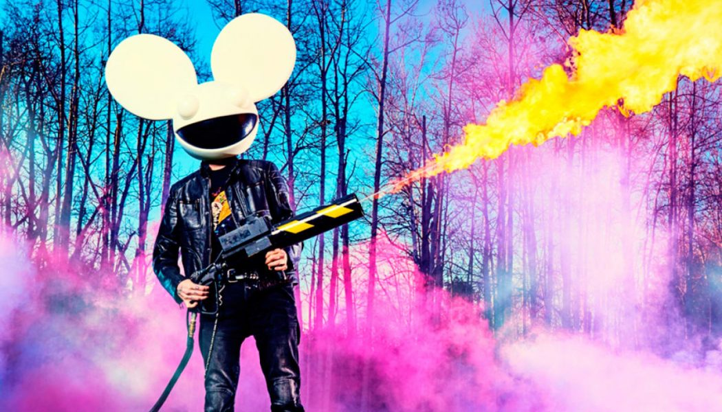 "deadmau5, ODESZA, Flume, More to Perform at ""Party In Place"" Virtual Concert This Friday"