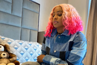 DJ Cuppy receives signed Manchester United jerseys from Ighalo as she joins the club
