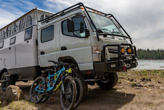 EarthCruiser 4×4 Overland RV Gets New Dual Cab, Still Fits in Shipping Container