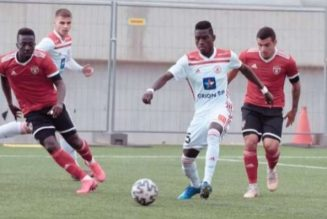 Flying Eagles striker delighted with his AS Trencin debut