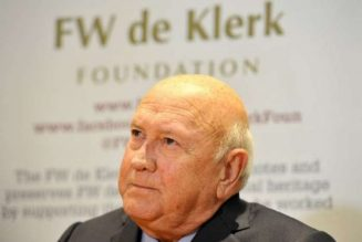 Former South African president withdraws from US rights talk