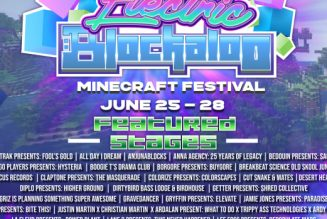 """Getter's Shred Collective to Host Stage at Minecraft Festival """"Electric Blockaloo"""""""