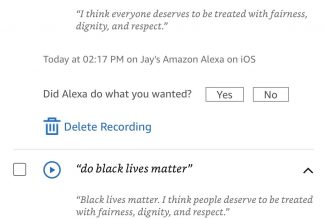 Here's how Alexa, Google Assistant, and Siri answer the question, 'Do black lives matter?'