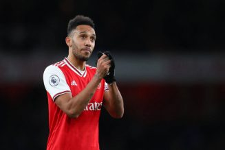 Julien Laurens provides fresh update on Aubameyang's contract situation at Arsenal: report