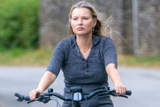Kate Moss' Cycling Outfit Is as Chic as You'd Expect